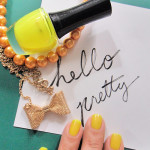 Yellow Nail Color for Summer