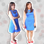 Outfit: My Take on How to Wear a Blue Dress
