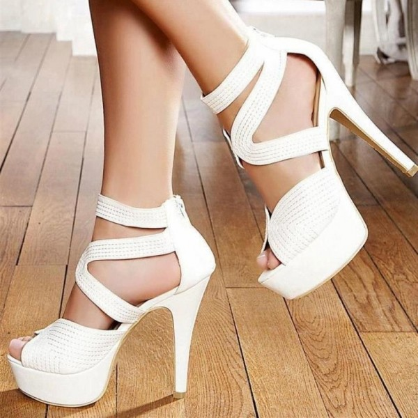 Best white platform sandals
